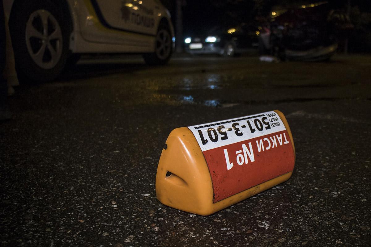 Таксист на Daewoo поворачивал на Закревского и не заметил второй автомобиль
