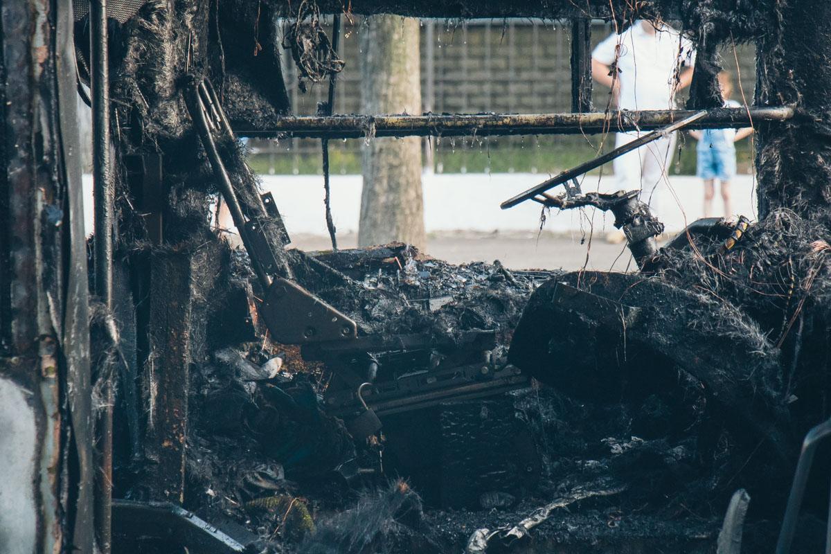 Причину возгорания установит следствие
