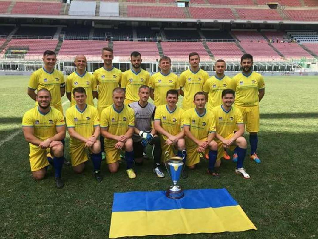 Такой чемпионат Европы между священниками 11 против 11 проводился впервые