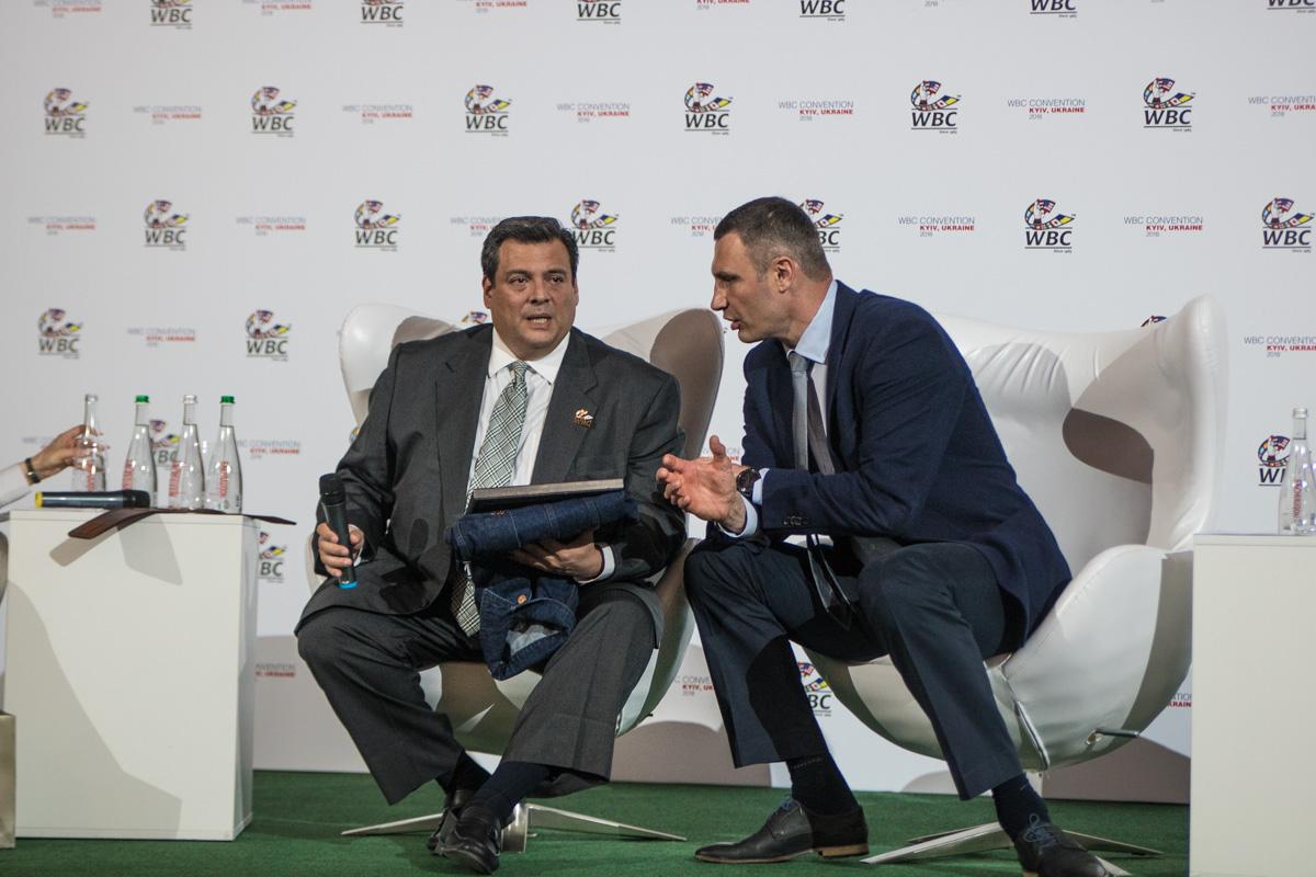«Конгресс WBC вКиеве пройдет засчет вкладов организаций»— Виталий Кличко