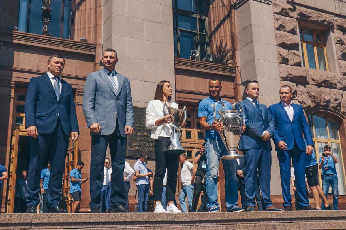 Кличко дал старт «Фестивалю чемпионов»