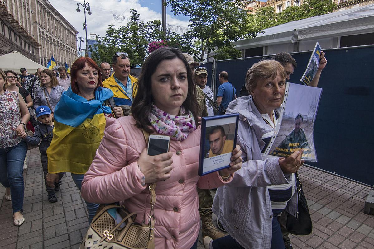 Более 70 украинских бойцов уже 3 года пребывают в плену оккупантов