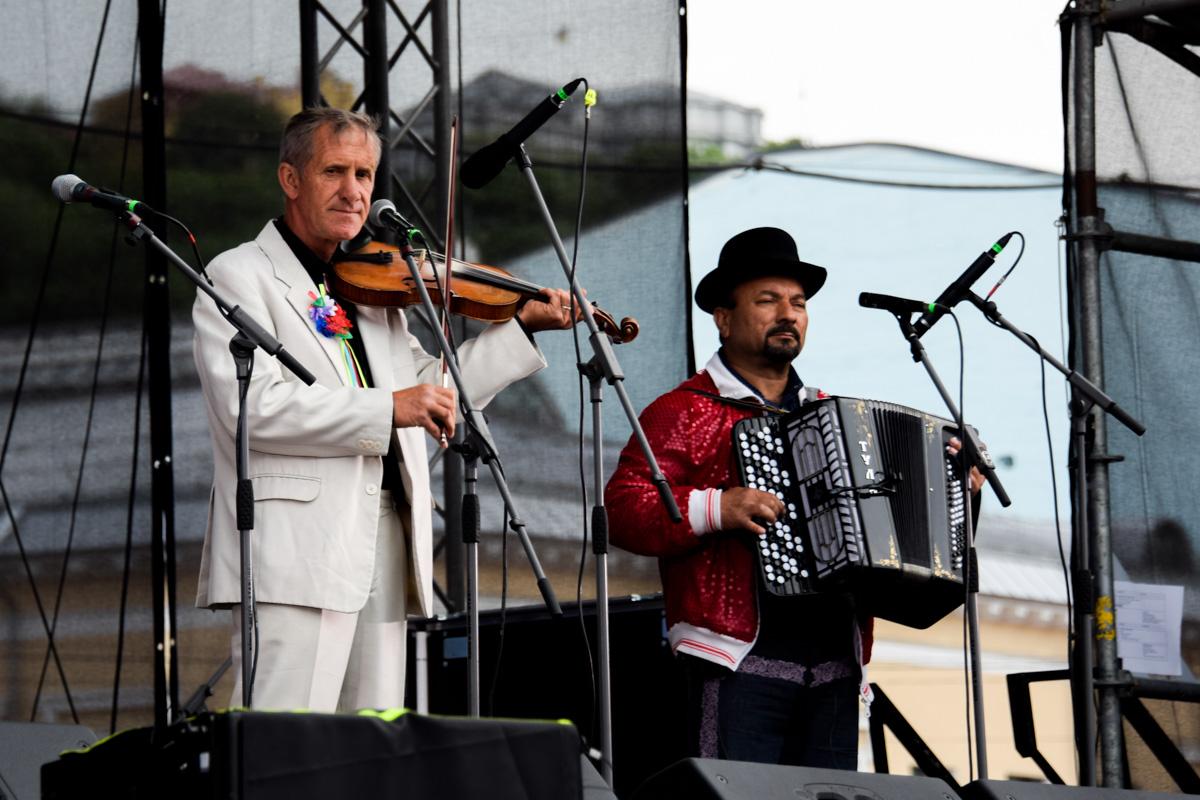 Kyiv Klezmer Fest на одной сцене собрал культовых исполнителей из разных стран