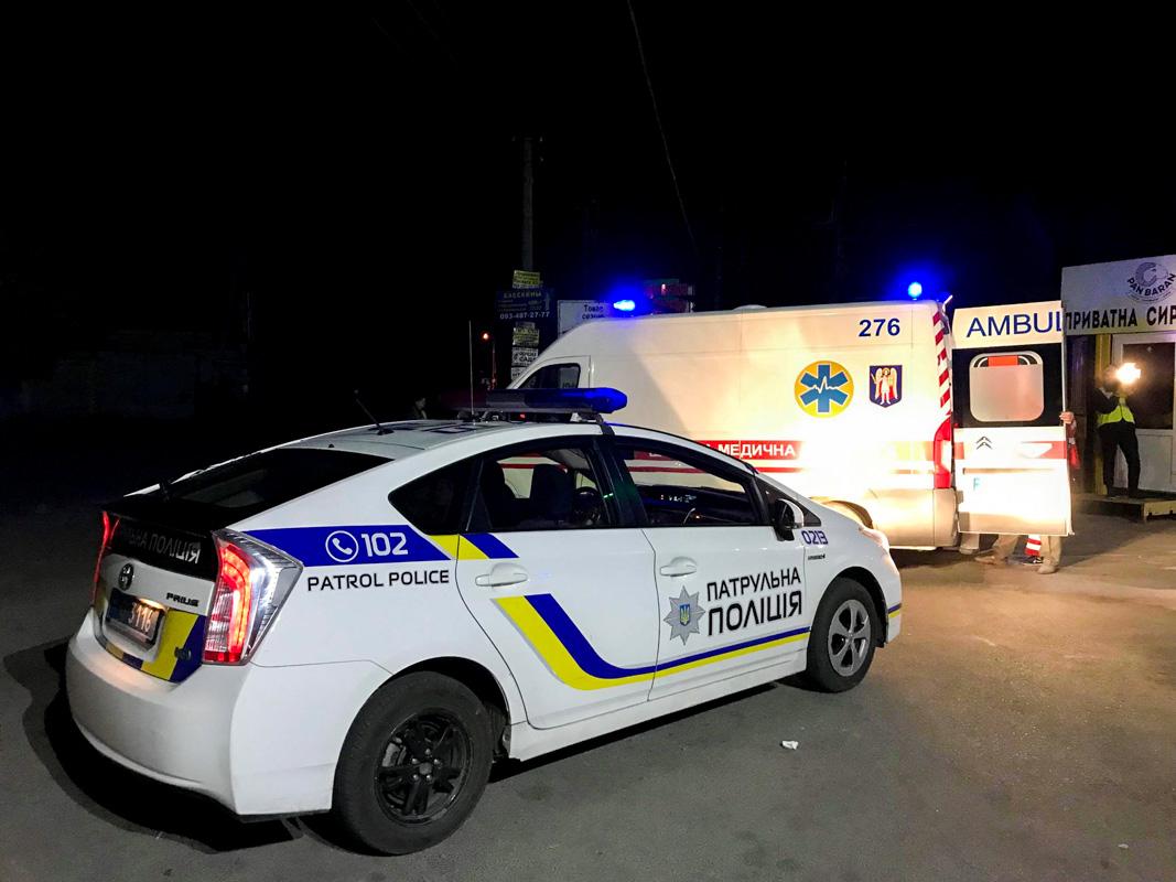 Район прочесывали патрульные совместно с полицией охраны