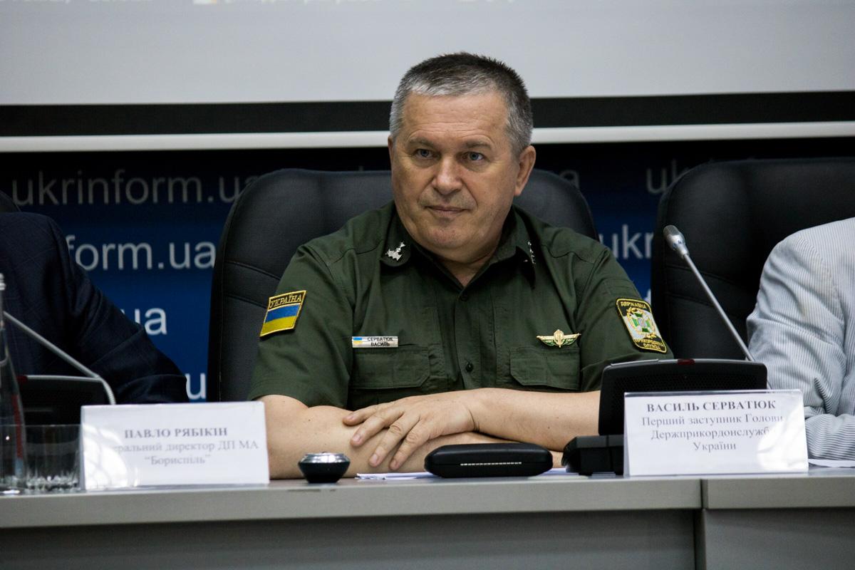 Первый заместитель главы Государственной пограничной службы Василий Серватюк