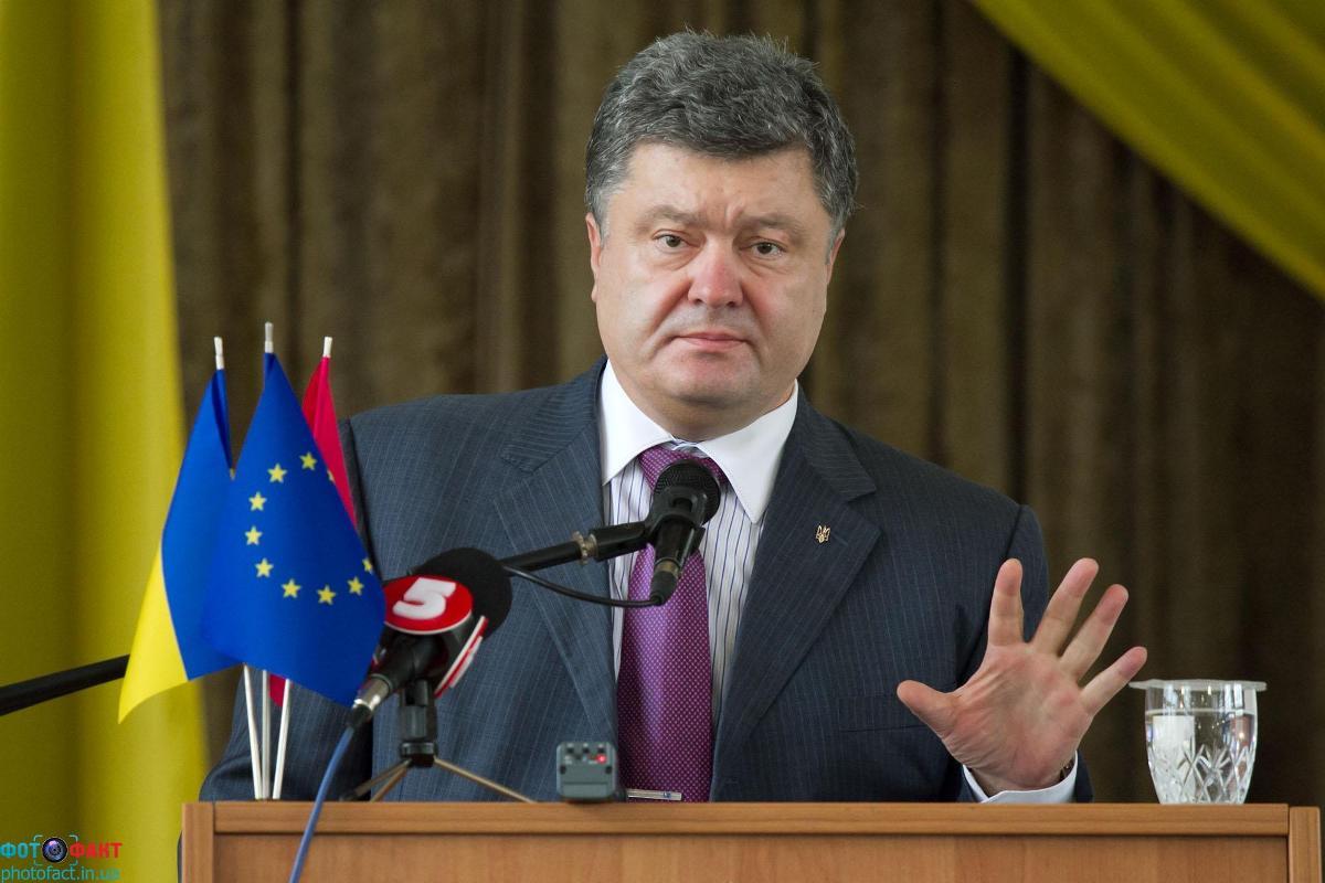 Президент Порошенко сообщил, что отзывает украинских представителей из СНГ