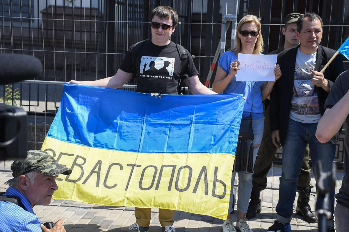 На акции был представлен и Севастополь