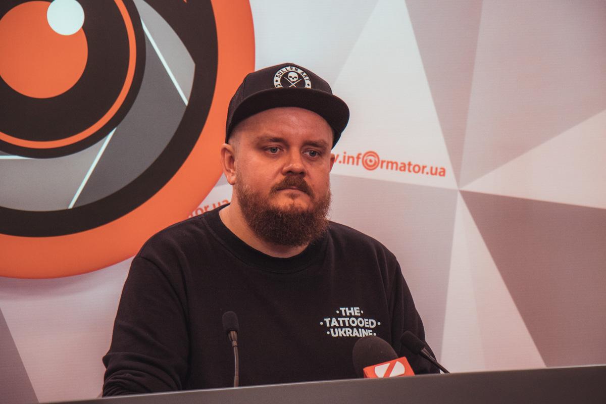 Соорганизатор фестиваля Петр Ищенко