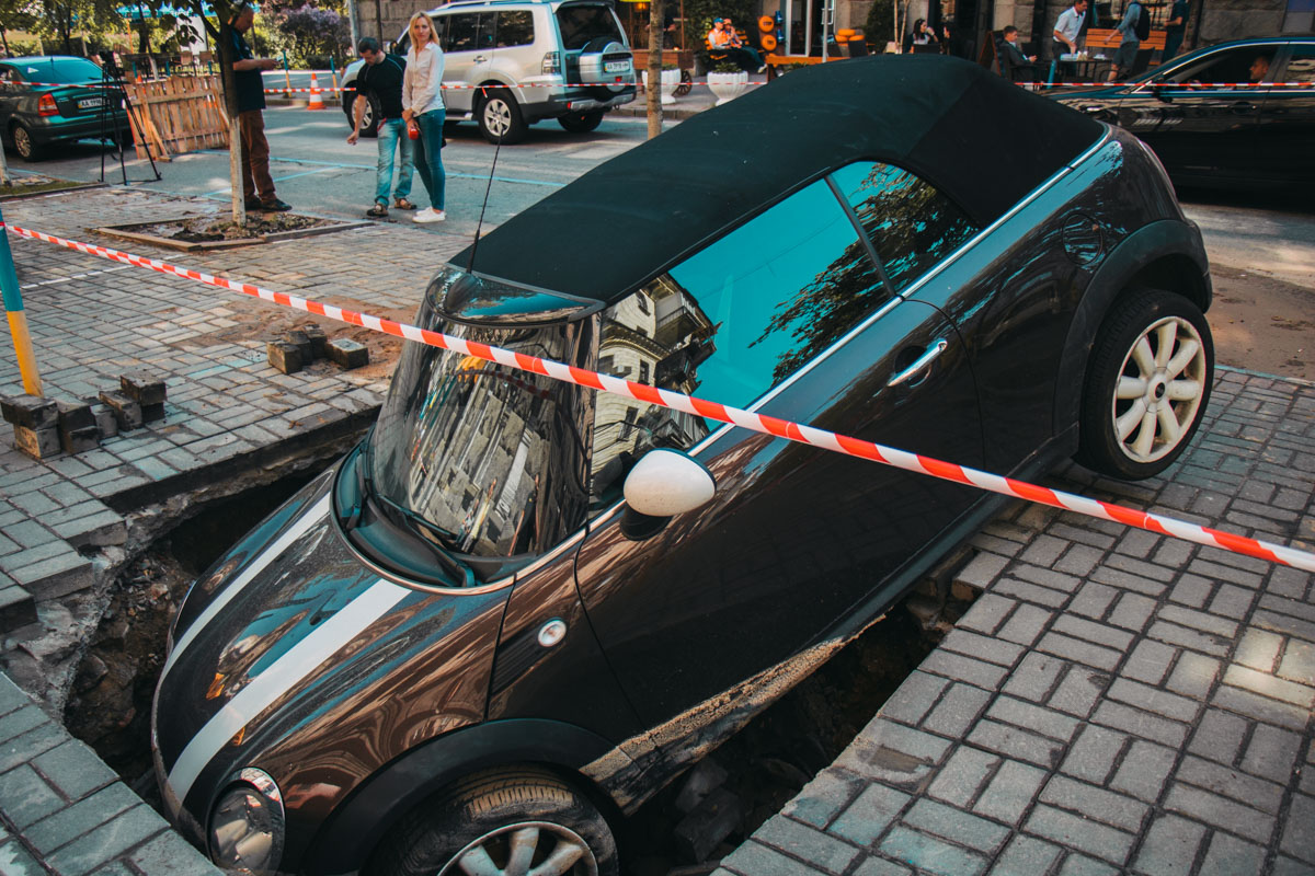 В инциденте никто не пострадал