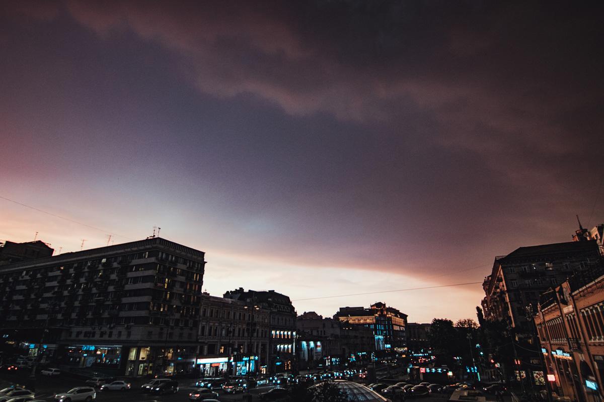 Непогода сейчас бушует во всей Киевской области