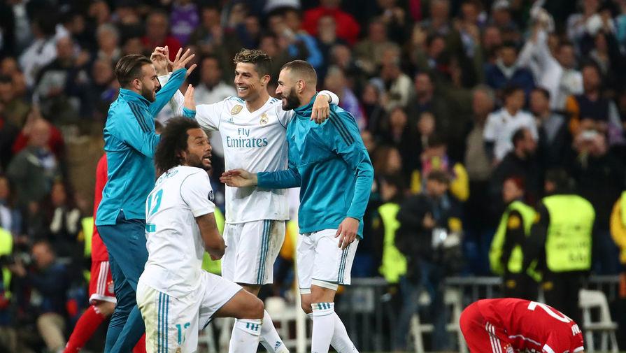 «Реал» третий раз подряд вышел в финал Лиги чемпионов