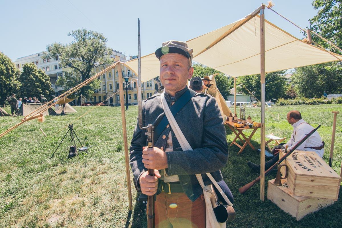 Солдат армии Конфедерации