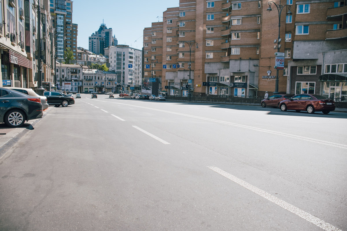 Мы решили отправиться в Печерский район и проехаться по улице Скоропадского
