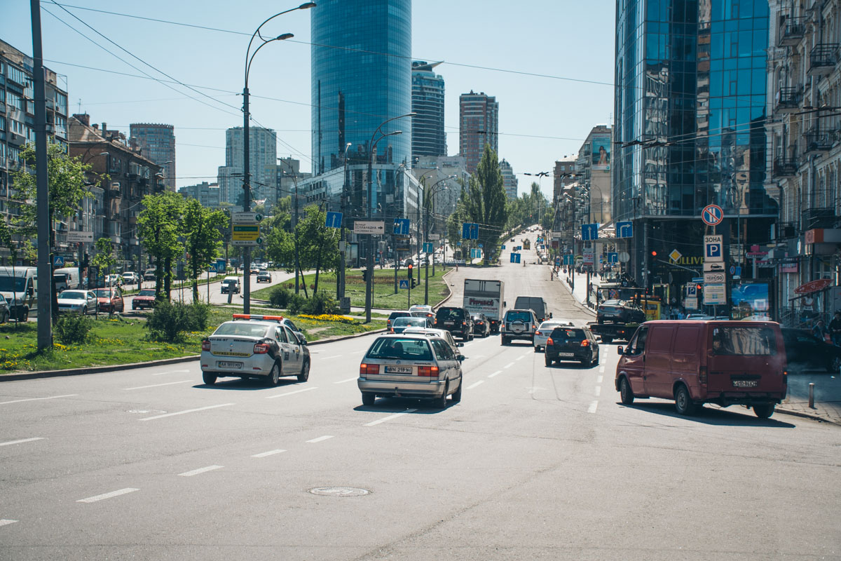 Ремонтные работы проводили от бульвара Леси Украинки до Бессарабской площади
