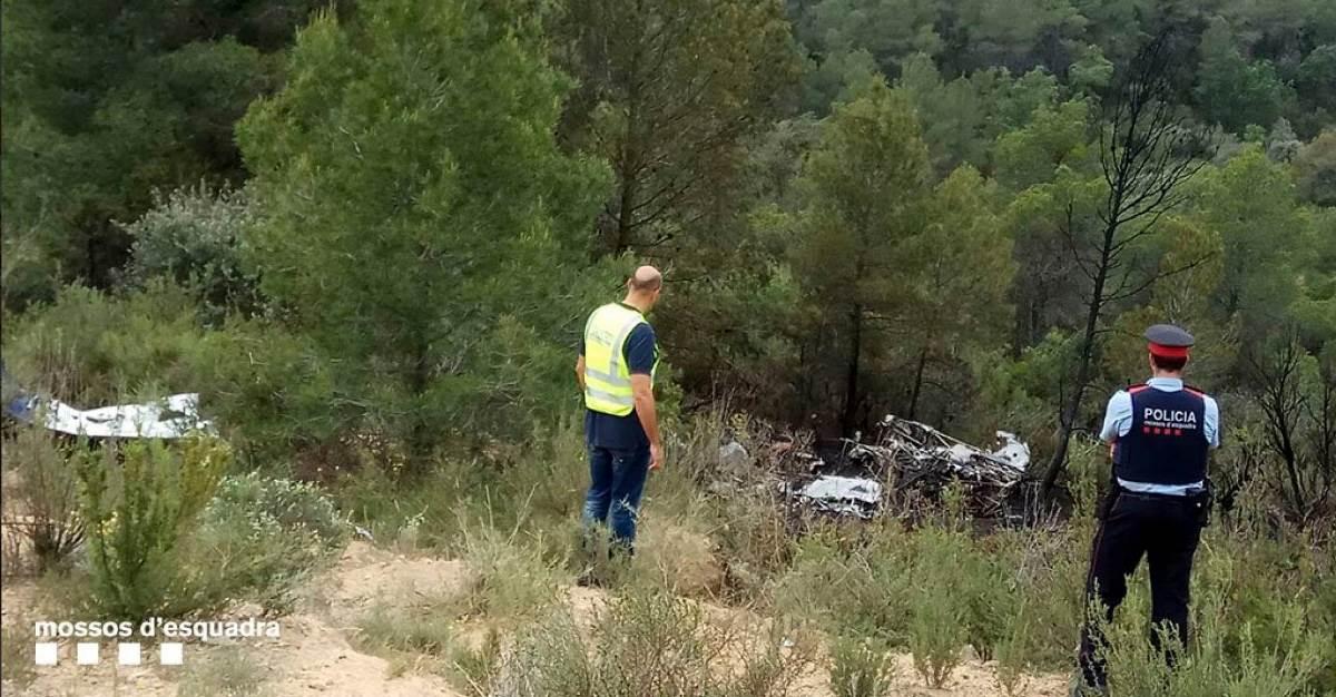 В испанской провинции Таррагона потерпел крушение легкомоторный самолет