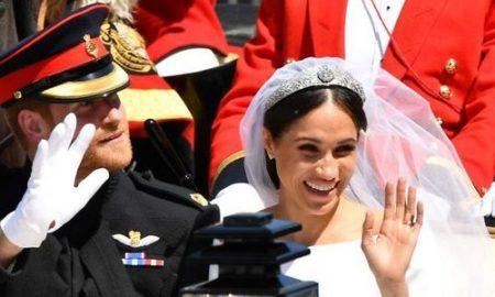 Состоялась свадьба принца Гарри и Меган Маркл