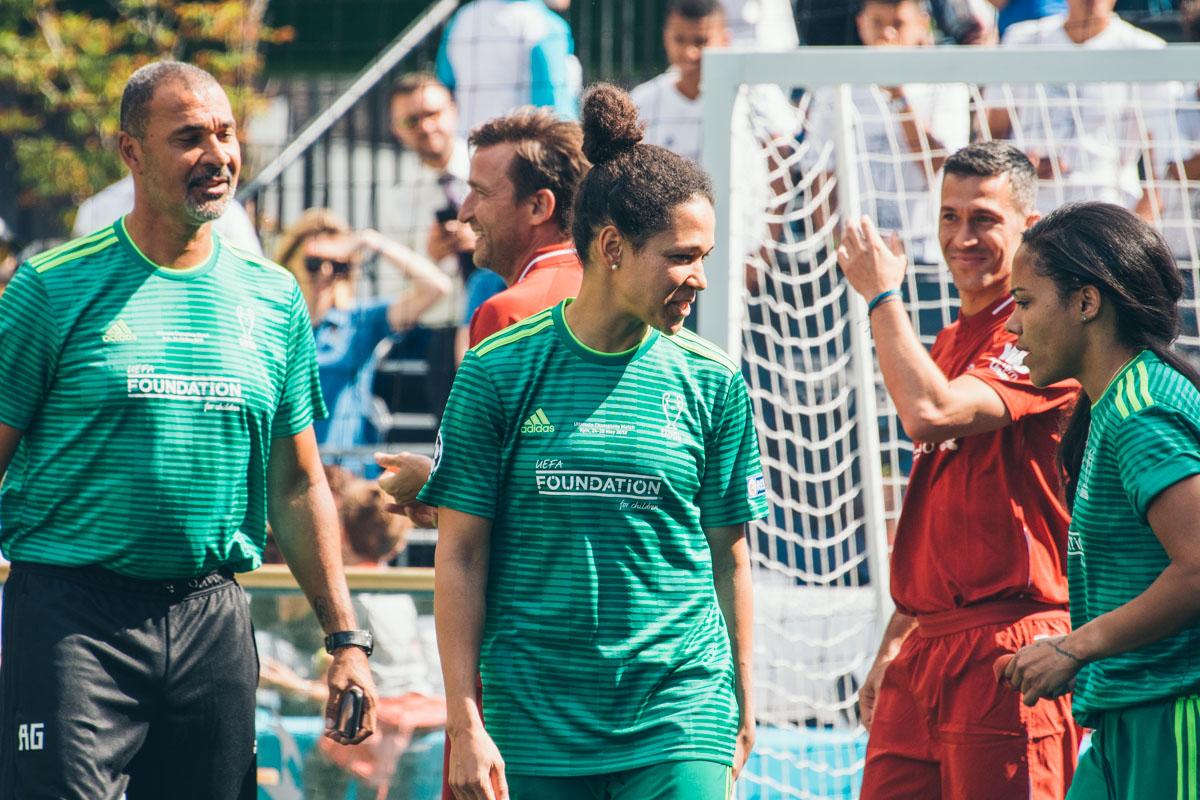 Селия Шашич и Алекс Скотт - две легенды женского футбола соверменности