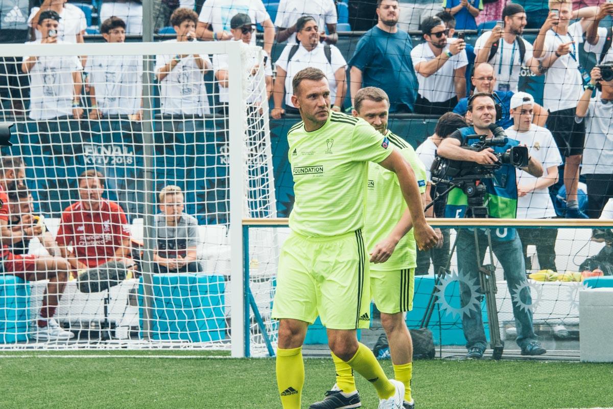 Андрей Шевченко - лидер команды имени себя