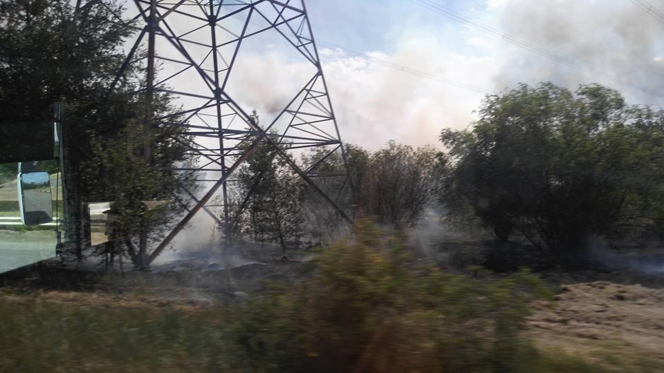 Задымление в Чернобыльской зоне