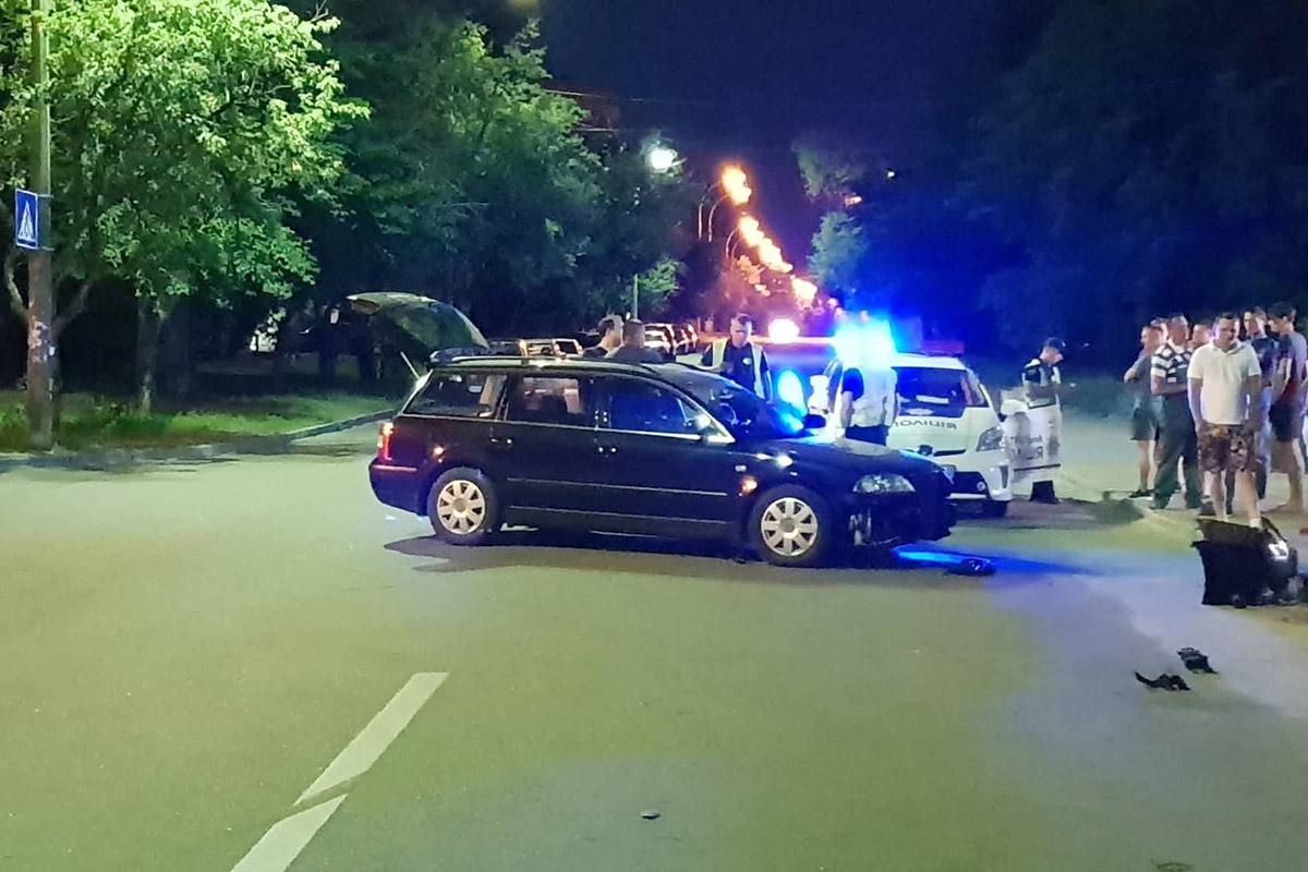 На пересечении улиц Волгоградской и Огородней столкнулись Volkswagen и Chevrolet