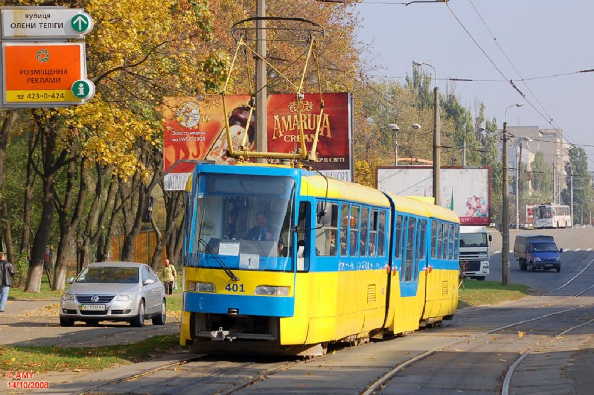 В столице на три недели закроют движение трамвая №1
