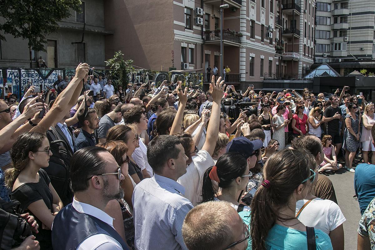 Гребенщиков странно отреагировал напровокацию вцентре столицы Украины