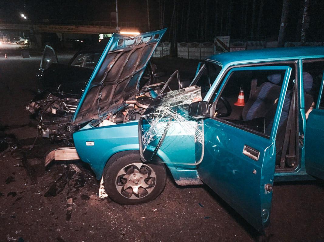 В поселке городского типа Гостомель произошло ДТП с пострадавшими