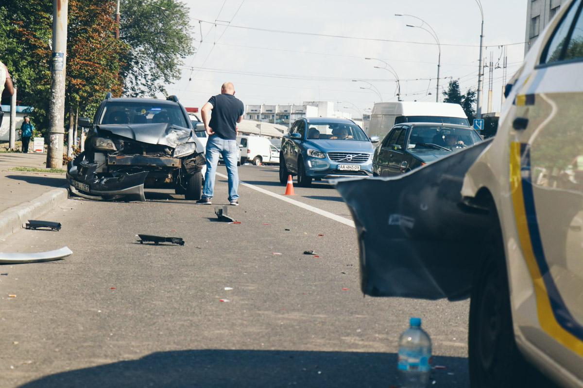 Есть подозрение, что водитель легковушки находился под действием наркотиков