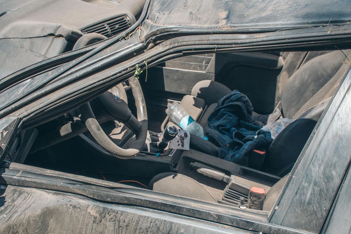 Водитель не пристегнул ремень безопасности