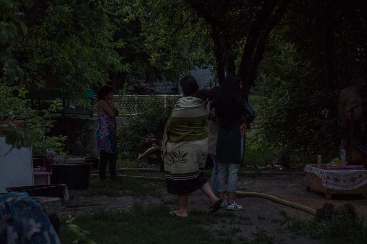В Киеве на Русановских садах произошел пожар