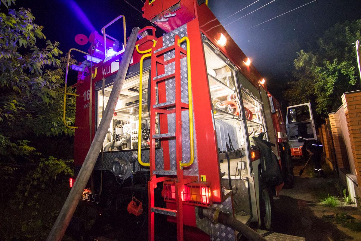 Пожарные оперативно ликвидировали возгорание