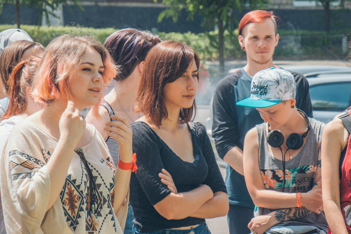 На экскурсии рассказали о Маршах Равенства предыдущих годов