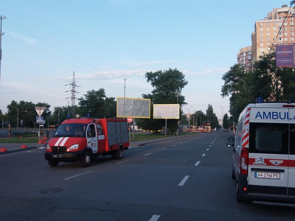 Пожарная бригада прибыла на место происшествия примерно через 15 минут