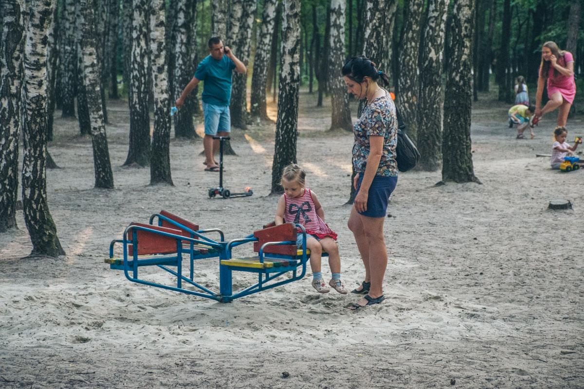 В Киеве реконструируют парк Совки