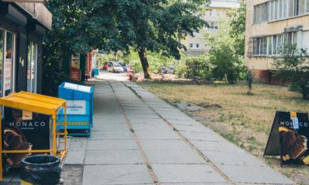 Как сейчас выглядит сквер возле метро Левобережная в Киеве после капремонта
