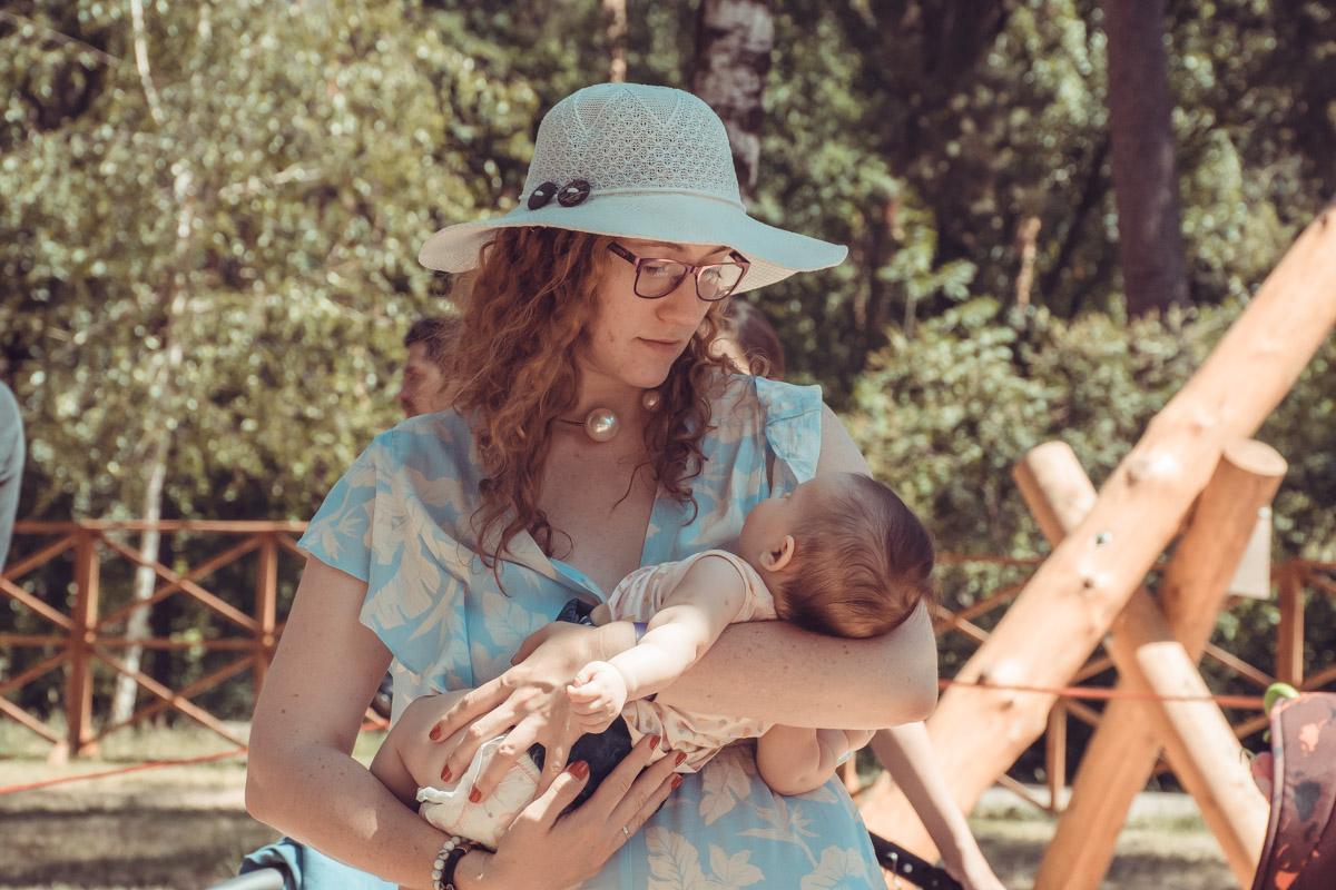 Лайтовая атмосфера позволила малышам спать крепким, здоровым сном