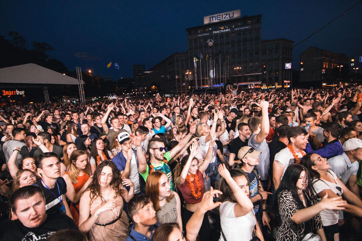 На Европейской площади прошел фестиваль электронной музыки Radioday