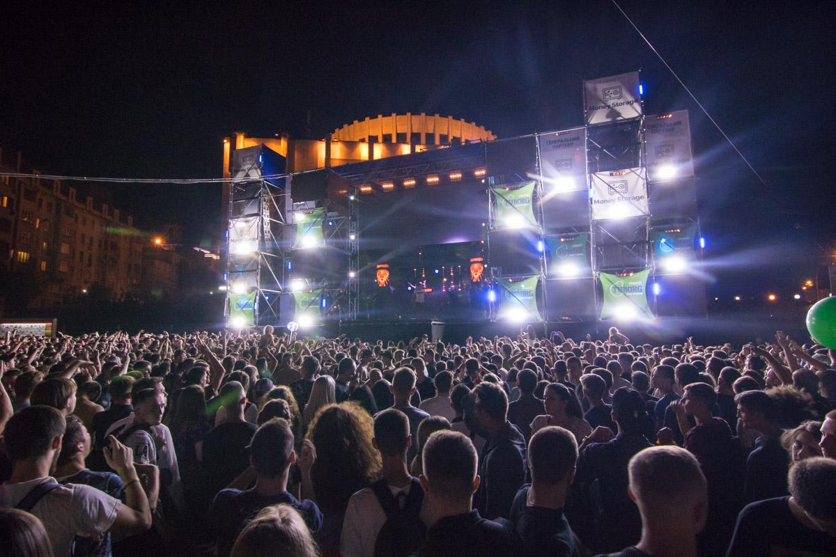 На сцене выступили самые крутые диджеи из Украины и Европы