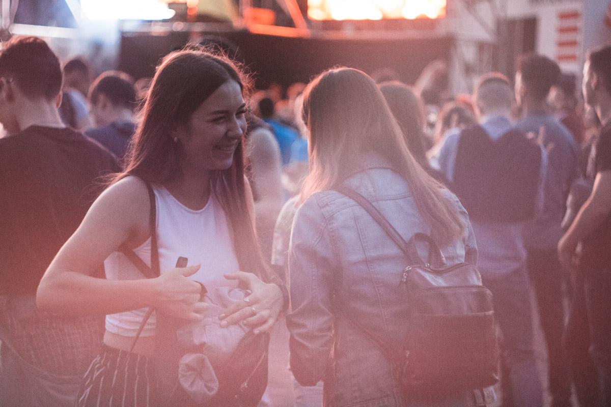 Тусовка в центре столицы собрала самых модных и позитивных