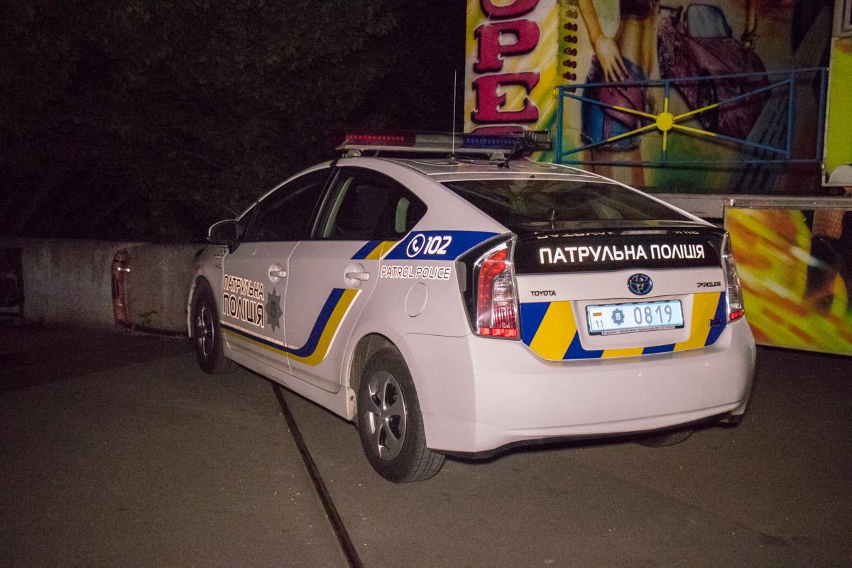 Полиция следила за безопасностью во время работ