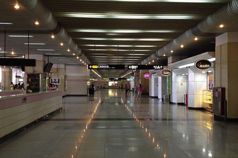 Маркировки используют в метро Китая