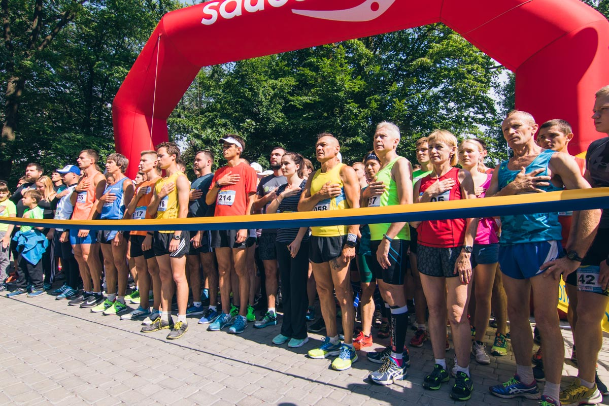 В прошлом году на праздник также прошел мини-марафон на 4 километра