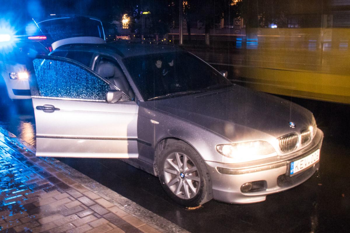 Автомобиль преступников попадал под ориентировку