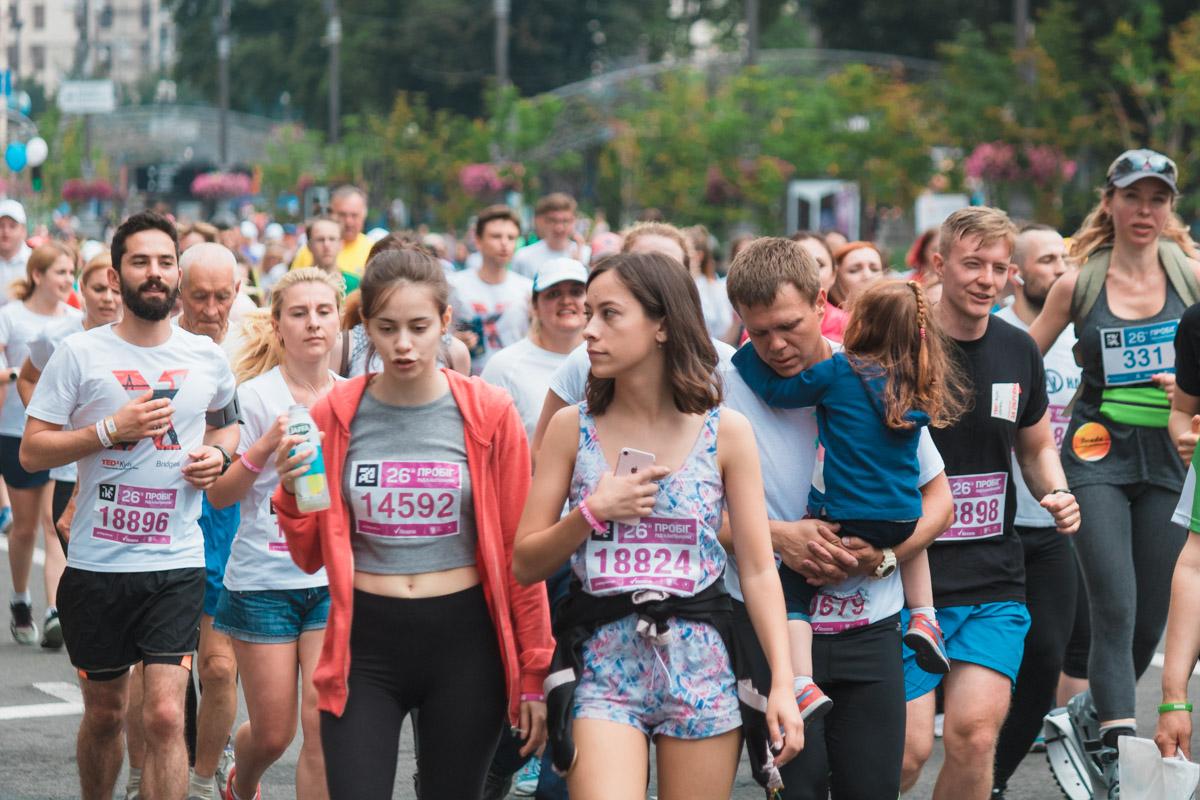"""В центре Киева начнется """"Пробег под каштанами"""""""