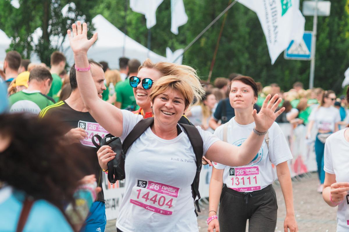 Информатору удалось запечатлеть самые крутые, вдохновляющие и свежие фото участников забега