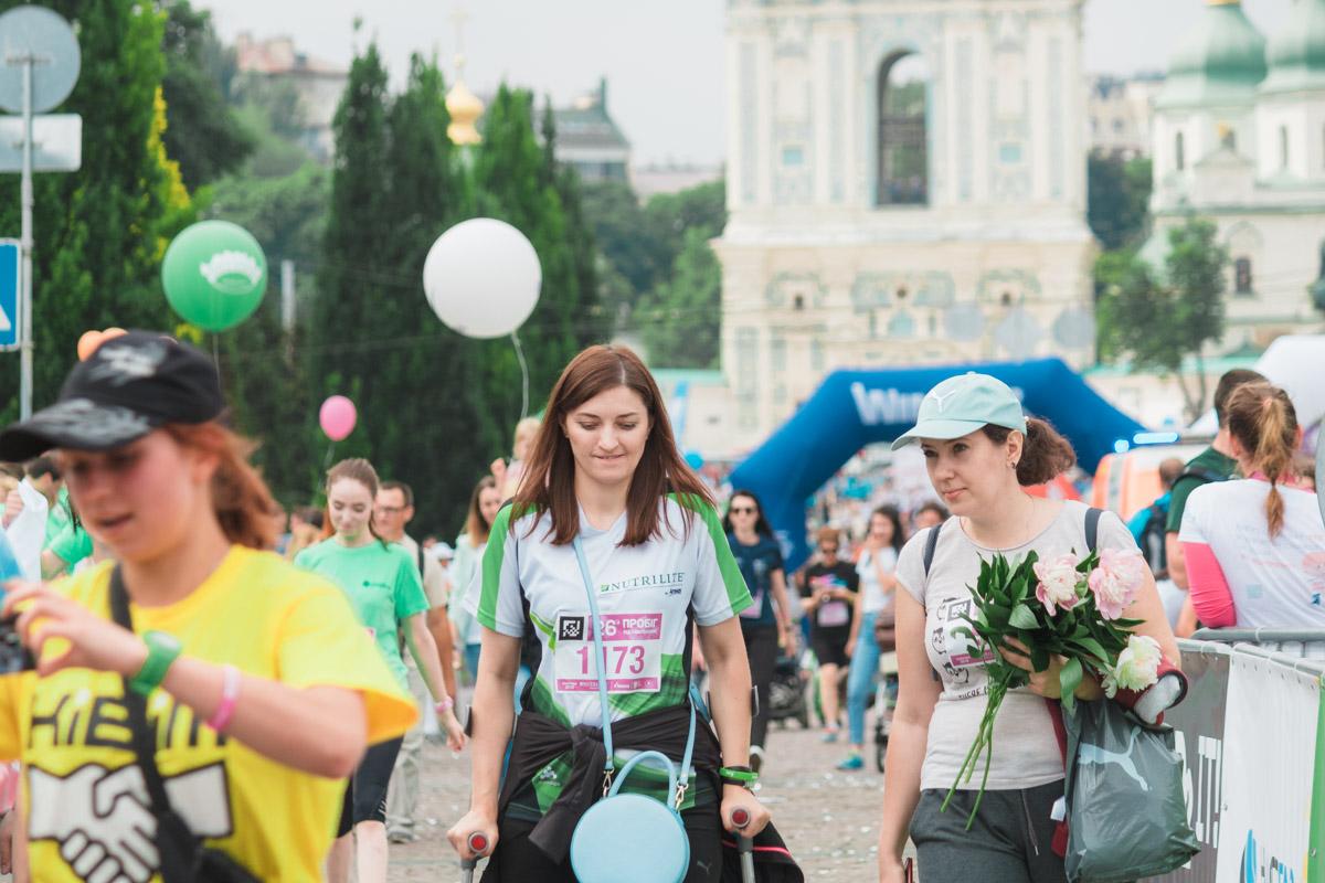 Участники рассказали Информатору, что бежали не только ради победы, но и ради добра