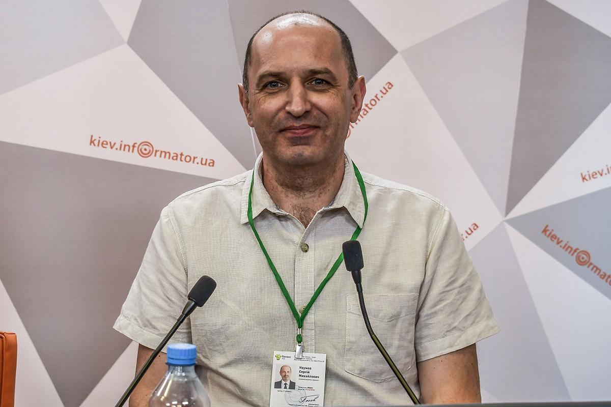 Журналист Сергей Наумов