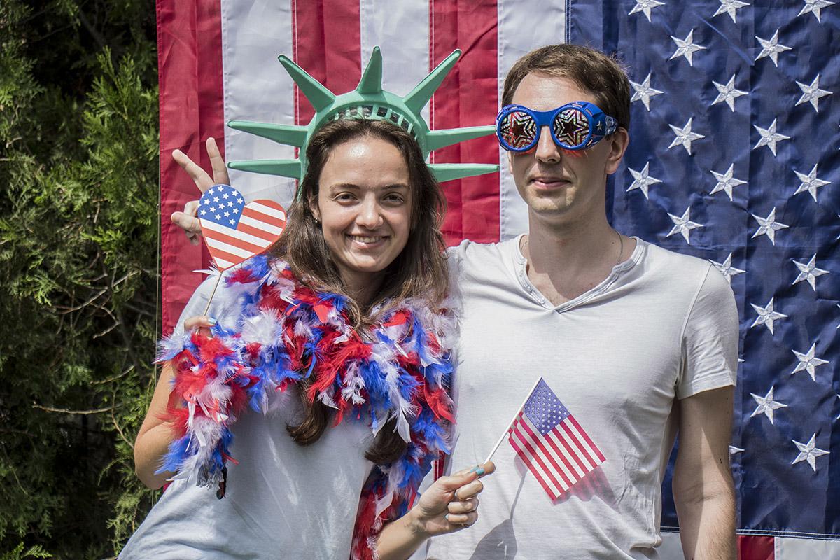 В Американском доме отпраздновали День Независимости США