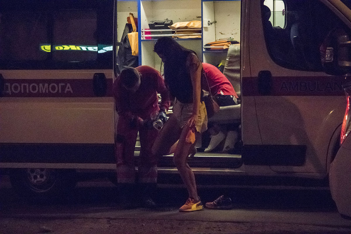 Девушка-пассажир получила ссадины и небольшие ушибы
