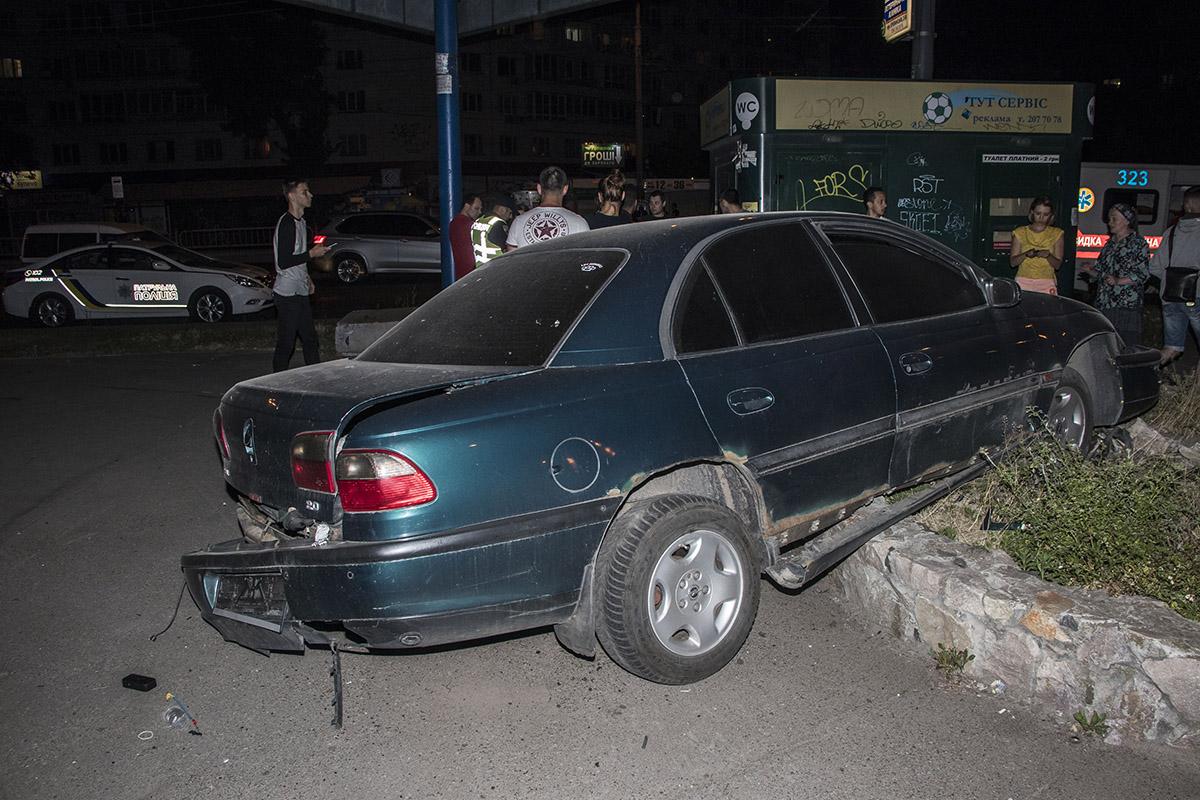 Водитель хотел скрыться с места ДТП